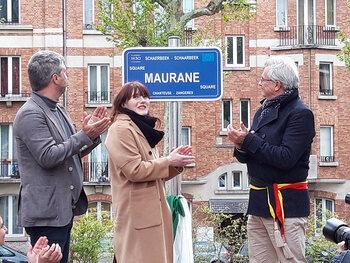 Un square Maurane inauguré à Schaerbeek