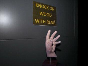 De hand van René