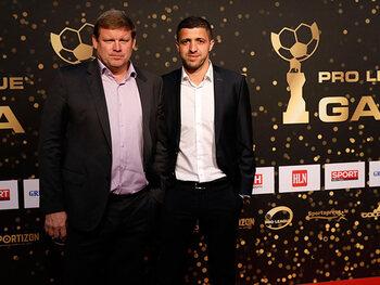 Hein Vanhaezebrouck en Karim Belhocine