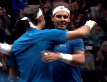 4 décembre : Nadal et Federer réunis dans un match de double pour la première fois