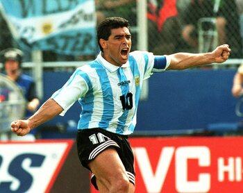 Laatste doelpunt voor Argentinië