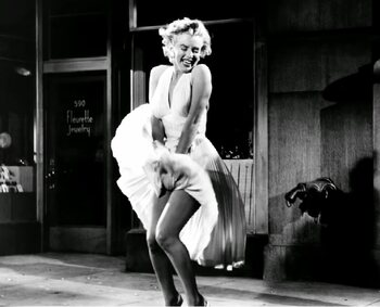 Marilyn Monroe's jurk uit 'The Seven Year Itch'