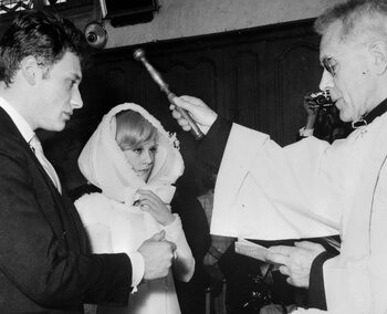 Son mariage avec Sylvie Vartan