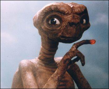 La naissance d'E.T.