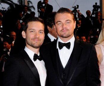 Leonardo DiCaprio en Tobey Maguire