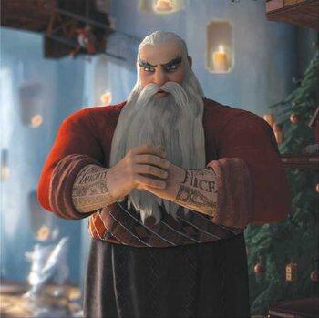 Klaus North, de kerstman: Gene Bervoets