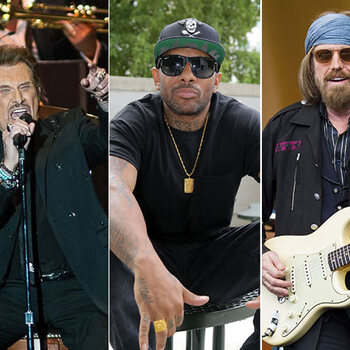 Johnny Hallyday, Prodigy en Tom Petty
