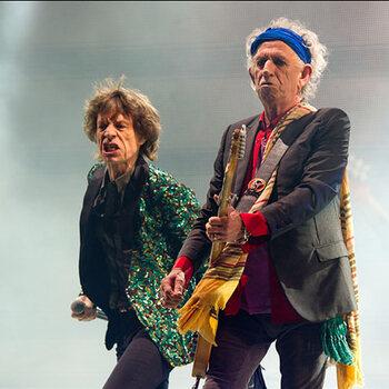 Keith Richards en Mick Jagger