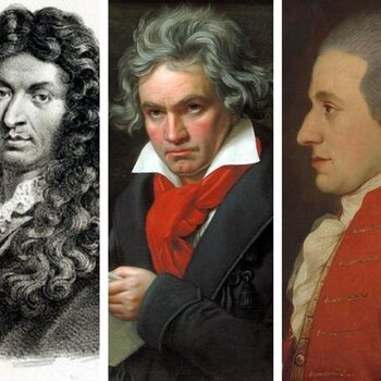Componisten die hun laatste stuk helaas nooit afwerkten...