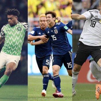 Les maillots de foot les plus réussis de la Coupe du Monde
