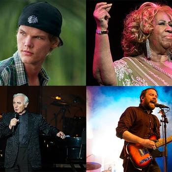 Deze muzieksterren overleden in 2018