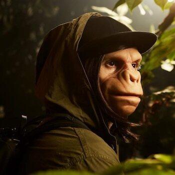 Kid Noize, maak kennis met de man met het apenhoofd!
