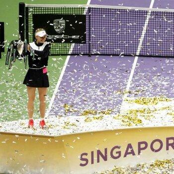 De WTA Finals, de kers op de tennistaart