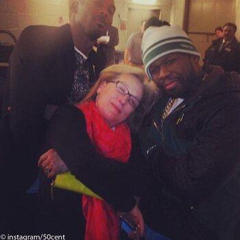 Meryl Streep et 50 cent
