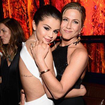 Jennifer Aniston en Selena Gomez