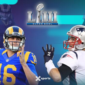 Los Angeles Rams - New England Patriots Super Bowl LIII Sean McVay - Bill Belichick