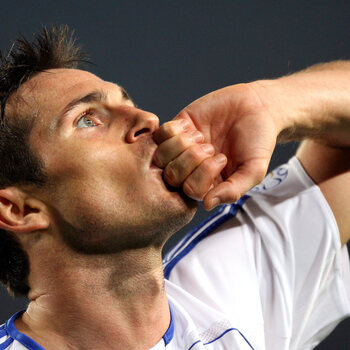 Frank Lampard viert zijn iconische treffer tegen Barcelona