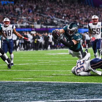 Eagles-Patriots Super Bowl LII