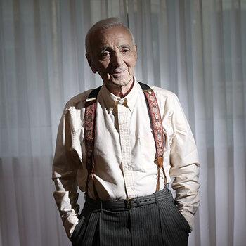 Charles aznavour mort 94 ans concert la boheme fracture 70 ans de carriere