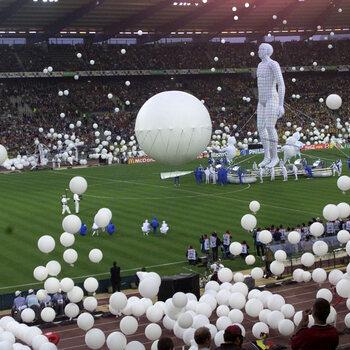 Openingsceremonie EK 2000