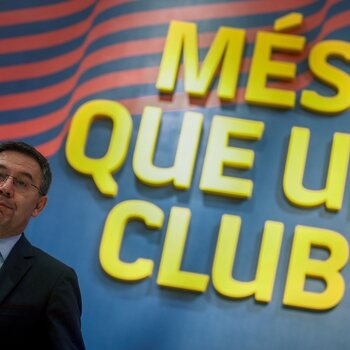 Nice to meet you... Josep Bartomeu