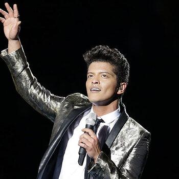 Bruno mars concert tournée nouvel album Werchter boutique fuck you just the way you are