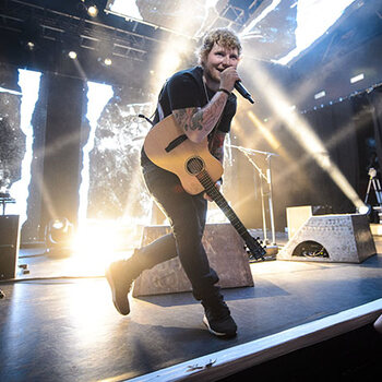 Ed Sheeran Werchter concert live nouvel album shape of you