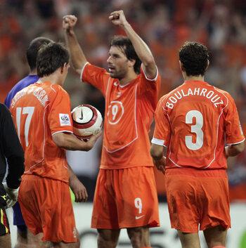 Les célébrations mythiques: la petite revanche de Ruud Van Nistelrooy