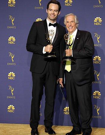 Bill Hader en Henry Winkler