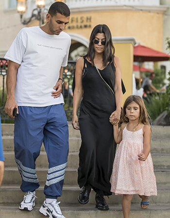 Kourtney Kardashian en Younes Benjima