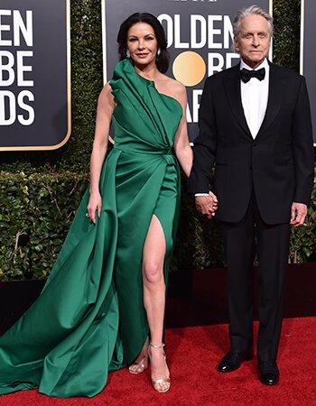 Michael Douglas en Catherine Zeta-Jones