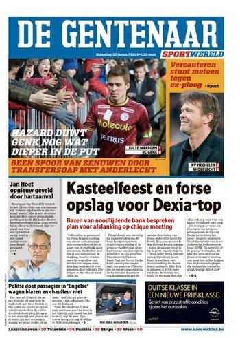 Het Nieuwsblad/Aan Gent gebonden