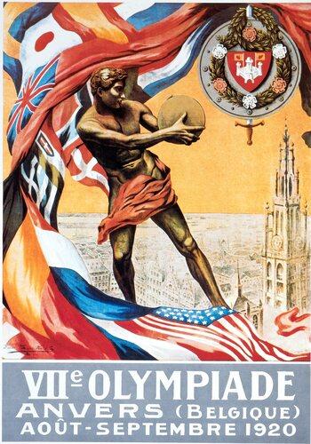 On this day: Antwerpen uitverkoren als gaststad voor de Olympische Spelen 1920