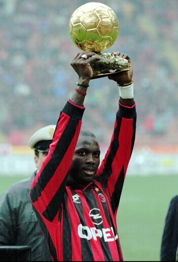Eerste Afrikaanse Gouden Bal-winnaar