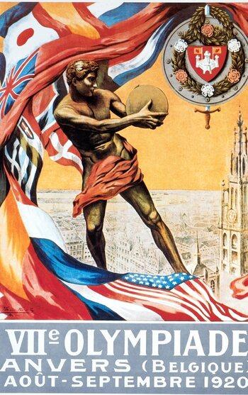 On this day : Anvers est choisie comme ville hôte des JO 1920