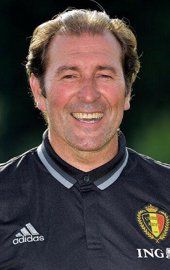De tweede keepertrainer: Iñaki Bergara