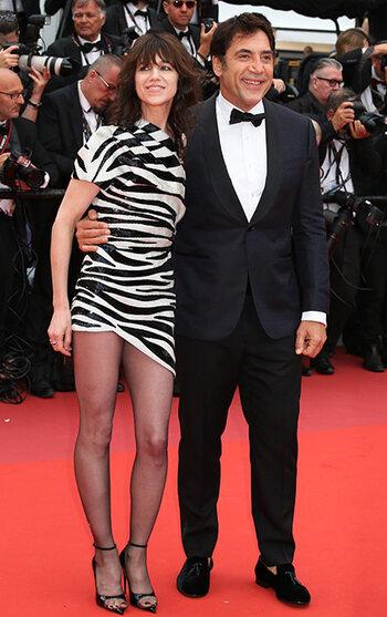 Charlotte Gainsbourg et Javier Bardem