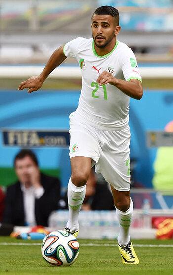 Riyad Mahrez (Algerije)