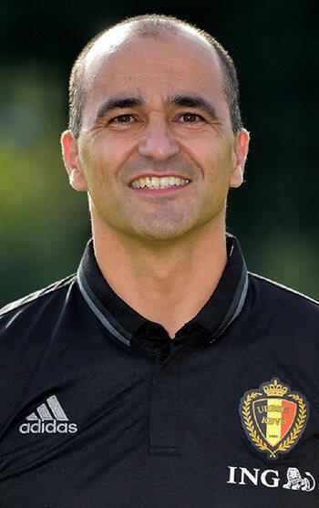 De coach: Roberto Martínez