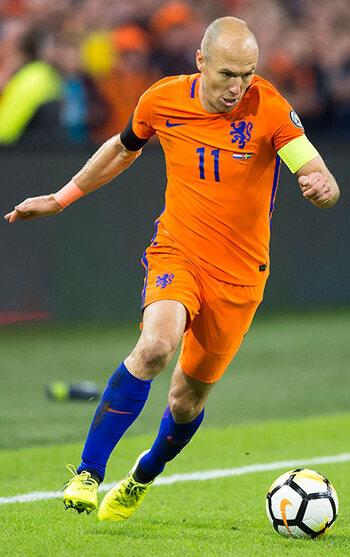 Arjen Robben (Pays-Bas)