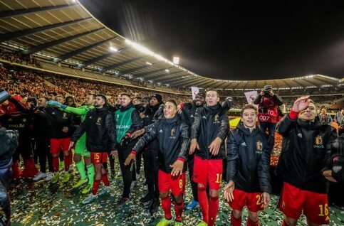 Le bilan exceptionnel des Diables Rouges lors des éliminatoires pour l'Euro 2020