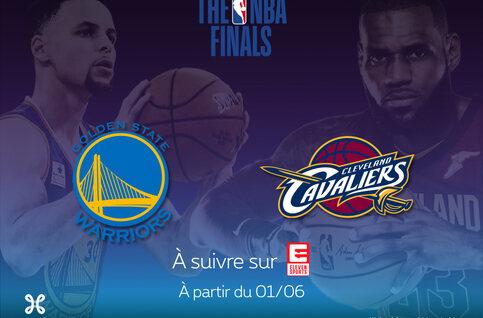 Suivez les Finals NBA en direct sur Proximus TV !