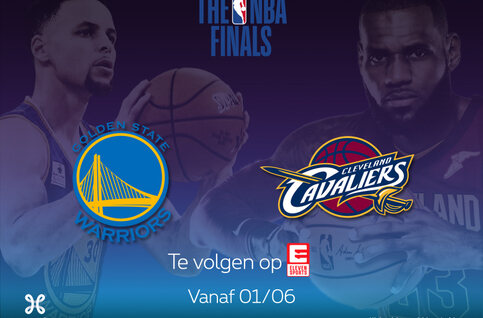 Bekijk de NBA Finals live op Proximus TV