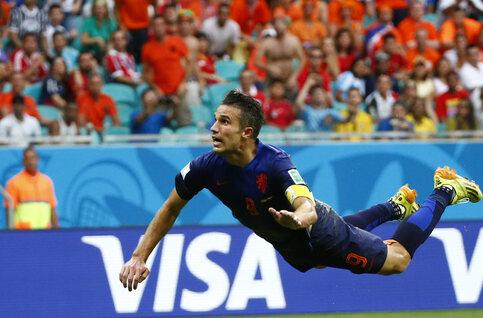 One day, one goal: l'envolée de Robin Van Persie