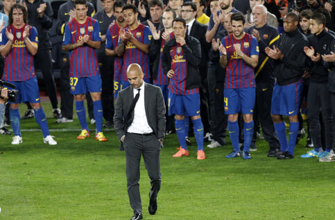 On this day: Pep Guardiola quitte le FC Barcelone