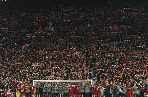Anfield, l'antre mythique du célèbre Kop de Liverpool