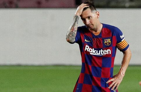 Le coup de pression de Messi, symptôme d'un profond malaise