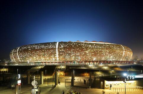 Le Soccer City, ou l'histoire de l'Afrique du Sud condensée dans un stade