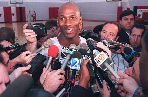 On this day: Michael Jordan annonce son retour en NBA