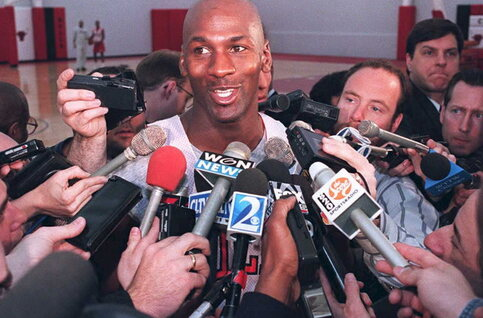 On this day: Michael Jordan kondigt zijn comeback in de NBA aan
